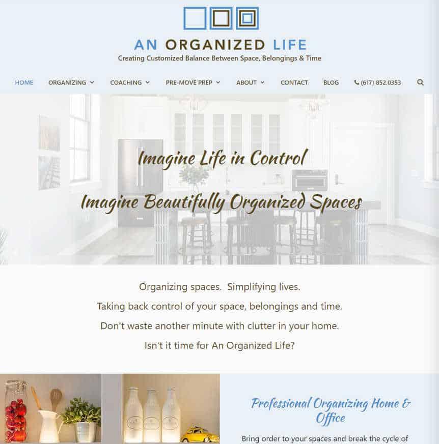 An Organized Life - Professional Organizer