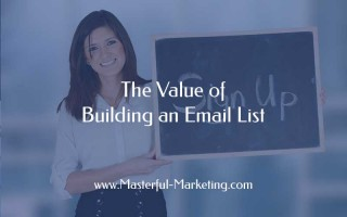 The Value of Building an Email List