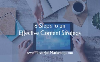 8 Steps to an Effective Content Strategy