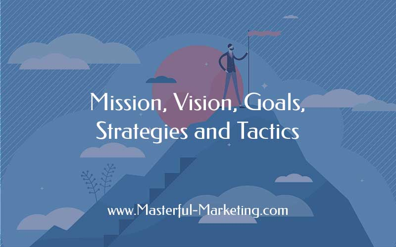 ission, Vision, Goals, Strategies, Tactics