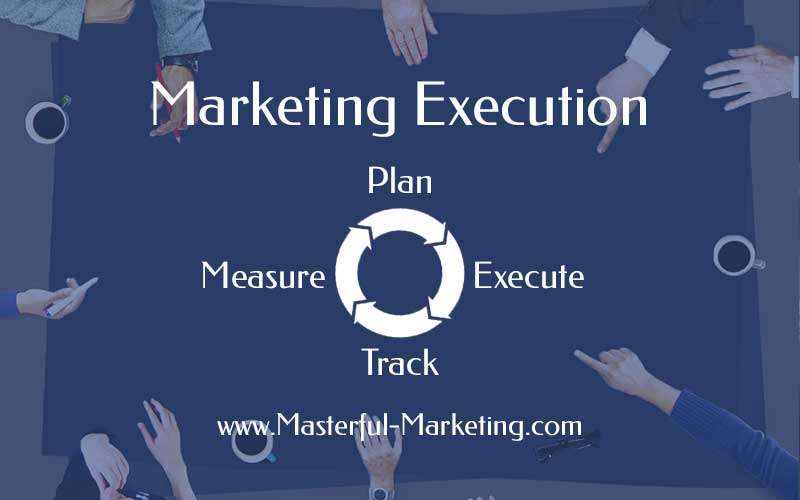 Marketing Execution – Plan, Execute, Track, Measure