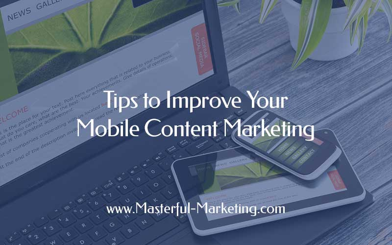 Content Marketing for Mobile Devices