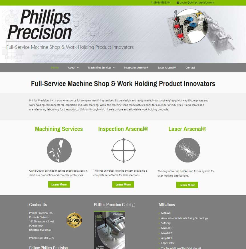 Phillips Precision, Inc.