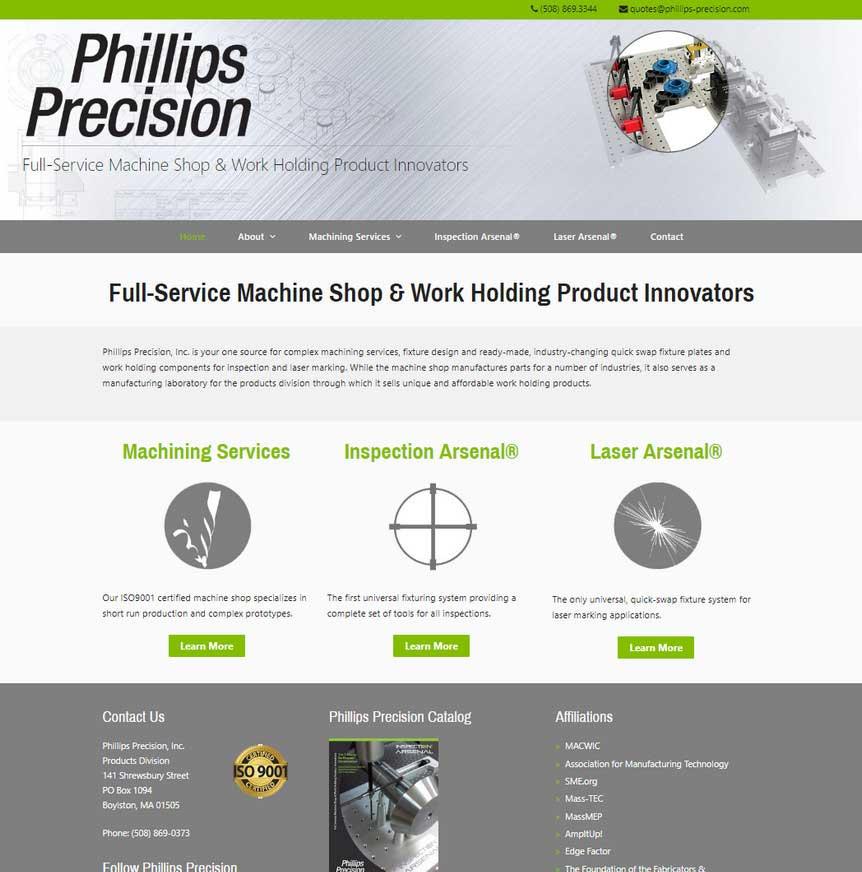 Phillips Precision, Inc.