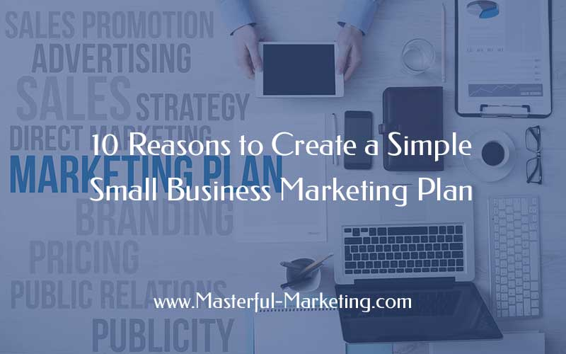 simple marketing plan