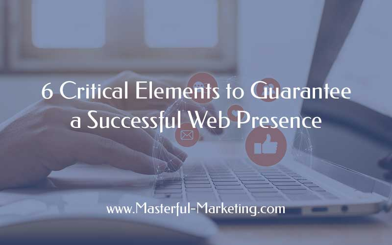 Successful Web Presence - Complex Network of Information
