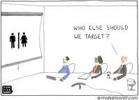 Target Market - Tom Fishburn, Marketoonist