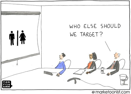 Target Market - Tom Fishburne, Marketoonist