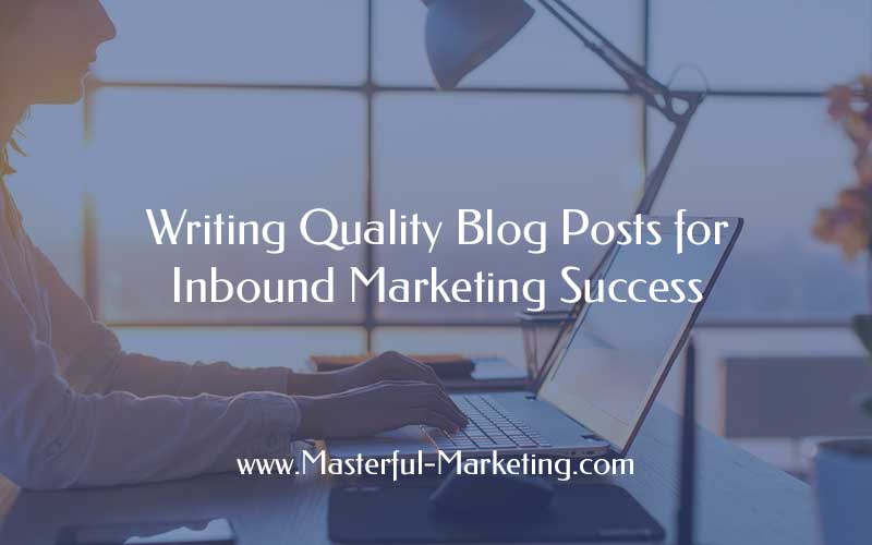 8 Step Formula for Writing Quality Blog Posts